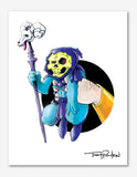Skeletor / He-Man Premium Art Print