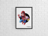 Spider-Man / Iron Man Premium Art Print