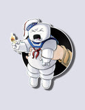 Stay Puft / Ghostbuster Premium Vinyl Sticker