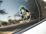 Deku / All Might Premium Vinyl Sticker