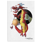 Mushu / Mulan Canvas Collection