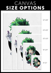 Deku / All Might Canvas Collection