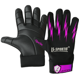 Football Glove - LS Lightning - Black Magenta
