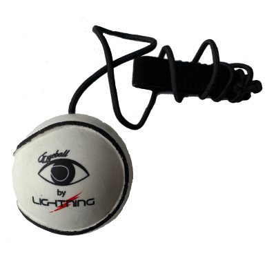 LIGHTNING EyeBall Training Sliotar - White