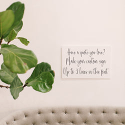 Your Custom Quote