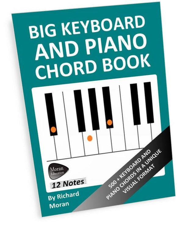 Big Keyboard and Piano Chord Book - Paperback - Moran Education