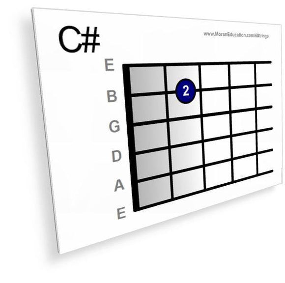 Guitar Flash Cards -  PDF - Moran Education
