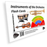 Instruments of the Orchestra Flash Cards - PDF - Moran Education