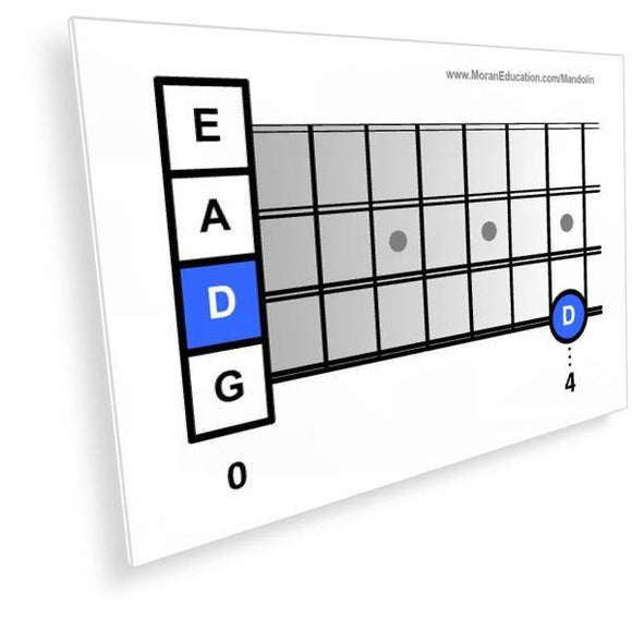 Mandolin Flash Cards -  PDF - Moran Education
