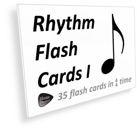 Rhythm I Flash Cards - PDF - Moran Education