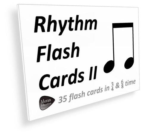 Rhythm II Flash Cards - PDF - Moran Education