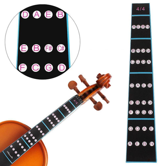 Violin Fingerboard Sticker for Beginners - Moran Education