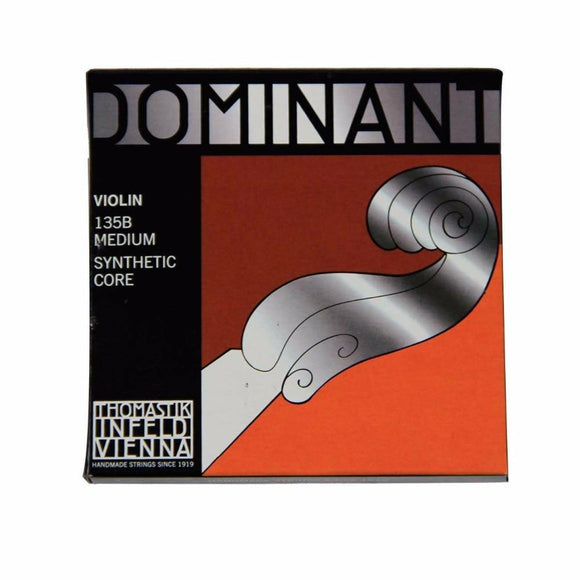 Thomastik Dominant 135/135B Medium Violin Strings 4/4 Strings Full Set - Moran Education