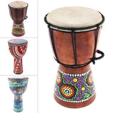 4 Inch / 6 Inch / 8  Inch  High Quality Professional African Djembe Drum Wood Good Sound Traditional Musical Instrument - Moran Education