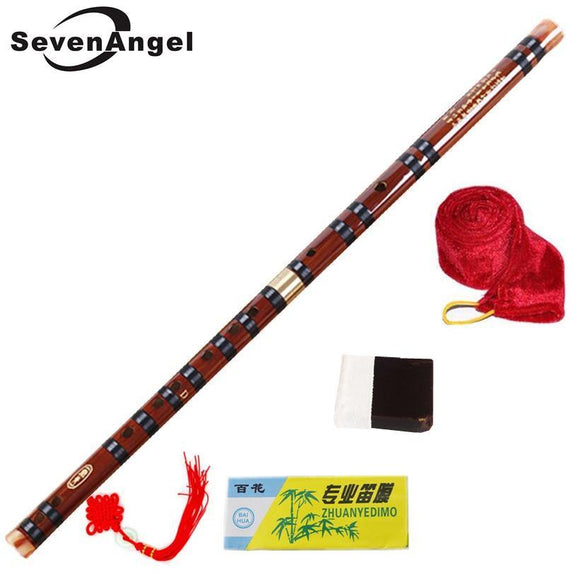 High Quality Bamboo Flute Professional Woodwind  Musical Instruments C D E F G Key Chinese Dizi Transversal Flauta 5 Colors - Moran Education