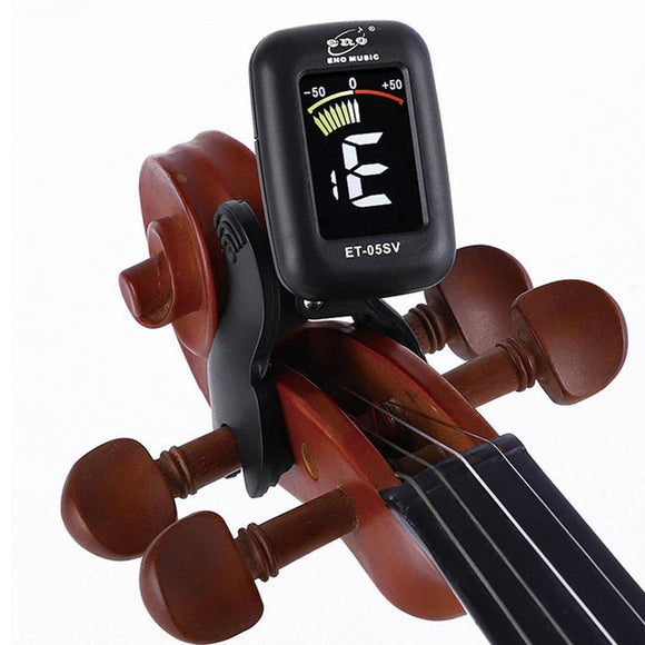 Clip-on Violin Tuner - Digital - Moran Education
