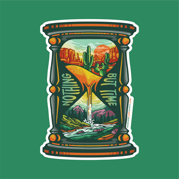 NOTHING BUT TIME: DESERT MOUNTAINS - STICKER