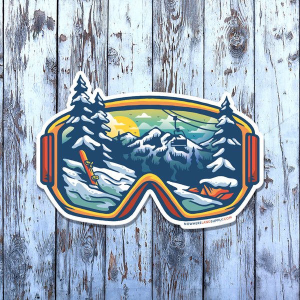 WINTER GOGGLES - STICKER