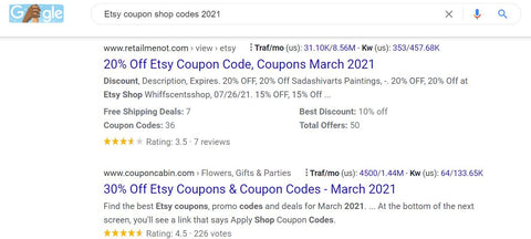 coupon code for jewelry shopping online