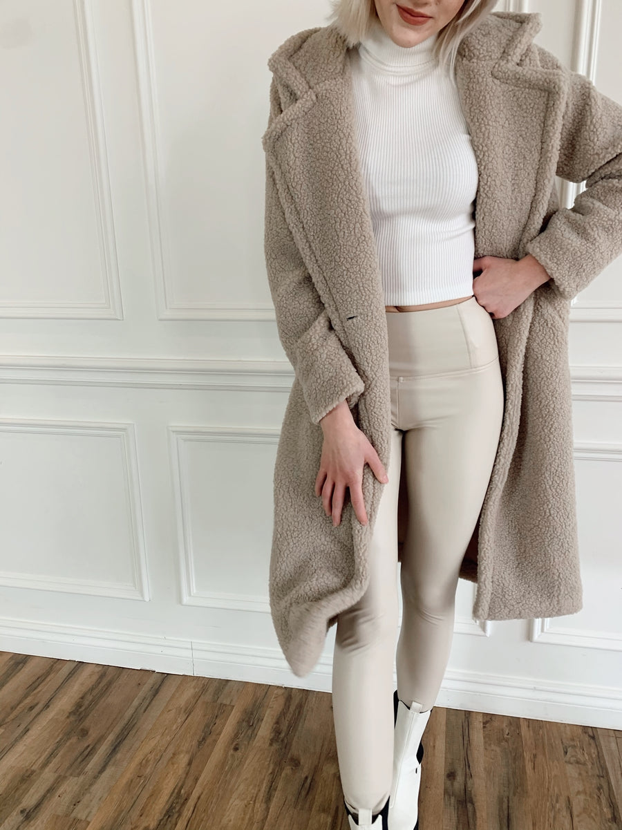 Mila Teddy Coat