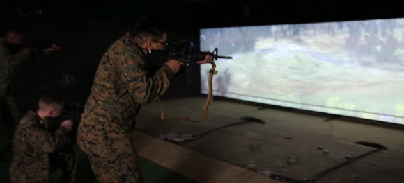 U.S. MARINES TO MOVE TOWARDS MORE SYNTHETIC TRAINING