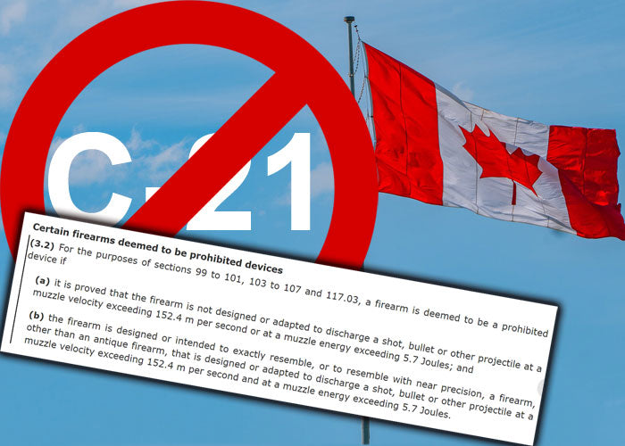 MORE ON CANADA'S BILL C-21 & THE AIRSOFT COMMUNITY'S RESPONSE
