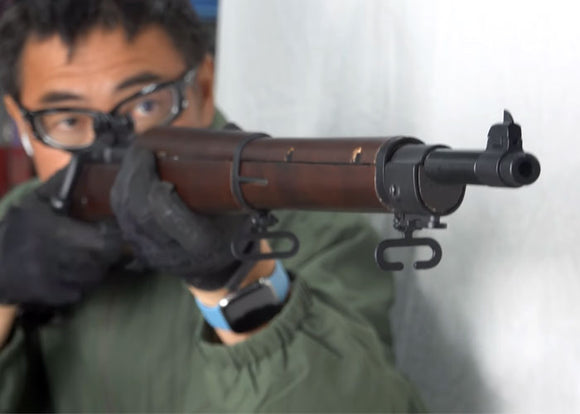 MACH SAKAI ON THE S&T SPRINGFIELD M1903 AIRSOFT RIFLE