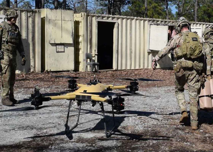 U.S. ARMY TO PRESS AHEAD IN TESTING DRONES FOR BATTLEFIELD RESUPPLY