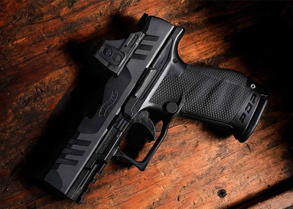 THE NEW WALTHER PDP IS AN OPTIC-READY 9MM DUTY PISTOL