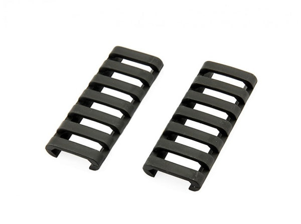 ERGO - 7 Slot LowPro Rail Covers (BK) (2 Piece in package)
