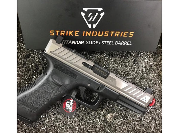 EMG Strike Industries ARK Titanium Slide and Steel Barrel for Marui G17 GBB Series