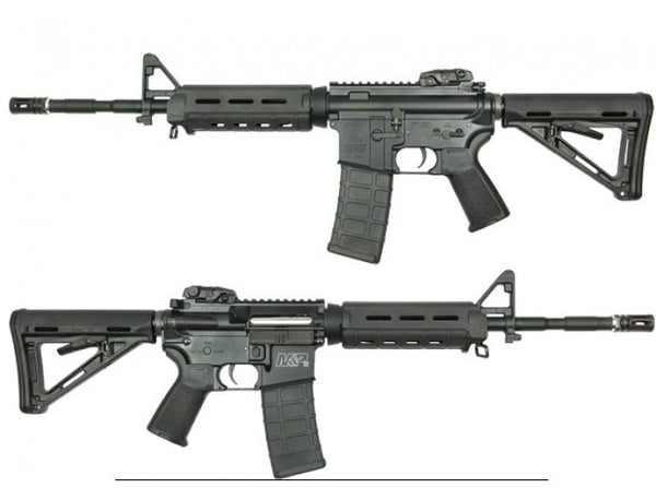 King Arms S&W M&P15 MOE AEG (Black)