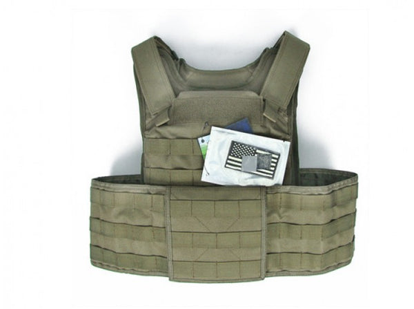 King Arms MPS Vest E4 w/ Cummerbund (Tan)