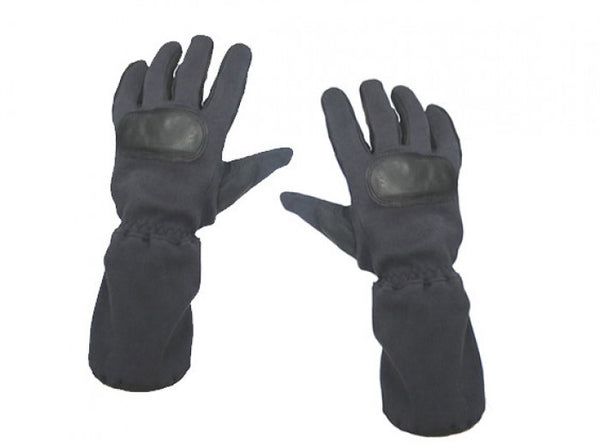 King Arms Kevlar Furry Gloves (Black, Medium)