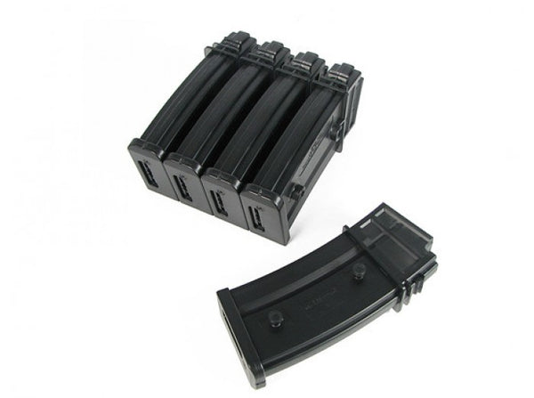 King Arms 470rd Hi-Cap Magazine for G36 Series AEG (5pcs)
