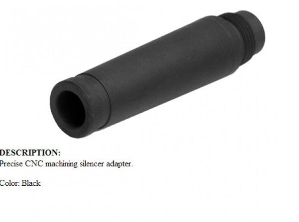 King Arms Silencer Adaptor for AUG (14mm CCW)