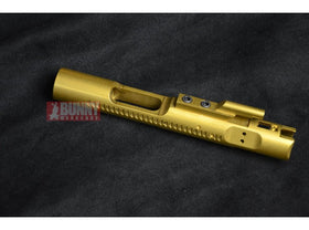 Angry Gun - CNC Steel Bolt Carrier For WE M4 GBB Open Bolt (Titanium Coating / Gold)