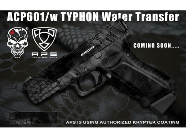 APS - ACP Full Metal CO2 Powered Airsoft GBB Gas Blowback Pistol (Typhon)