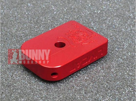 AKA CNC Limcat Puzzle Magazine Base for Marui Hi-Capa (Small, Red)