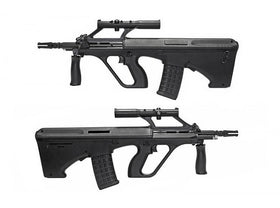 GHK - AUG A2 Gas Blow Back Rifle (14 inch Barrel)