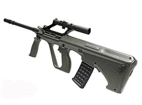 GHK - AUG A2 Gas Blow Back Rifle (OD Green)