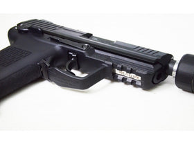 Umarex - HK45 Compact Tactical Gas Blowback Pistol with TR45S Silencer Dummy