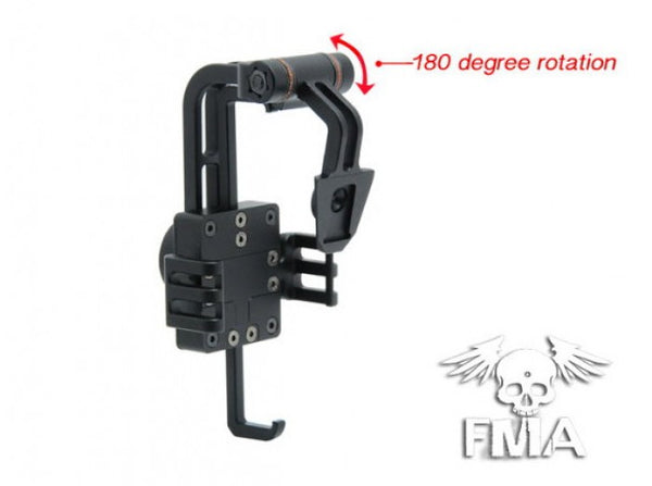 FMA Helmet Mount NVG for iphone4/4S TB642 ( BK )