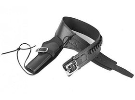 Gun Heaven -  PU Cowboy Leather Holster (Black)