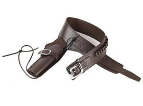 Gun Heaven -  PU Cowboy Leather Holster (Brown)