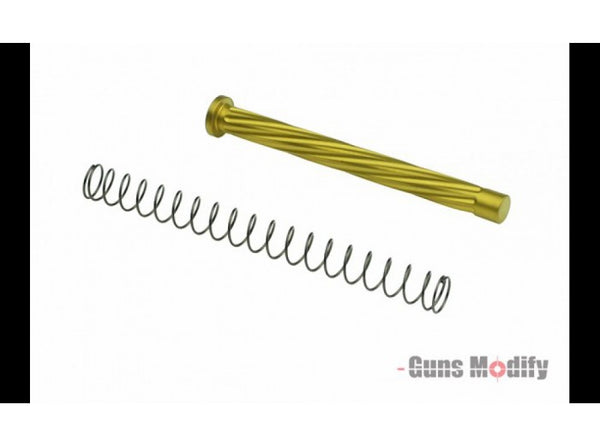 Guns Modify Stainless Steel Recoil Guide Rod for Tokyo Marui / WE / VFC Model 17 DEU - Gold
