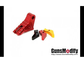 Guns Modify KI Adjustable Trigger for Tokyo Marui / Umarex G-Series GBB Pistol (Red)