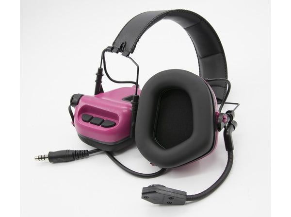 Earmor Tactical Hearing Protection Ear-Muff M32-MOD1 (2018 New Version) Pink
