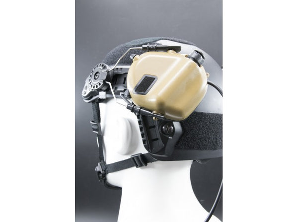 Earmor Tactical Hearing Protection Helmet Version Ear-Muff (2018 New Version) Tan