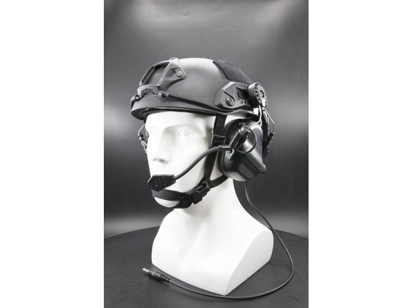 Earmor Tactical Hearing Protection Helmet Version Ear-Muff (2018 New Version) Black